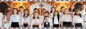 Dăbâceni-Biserica Sfinții Arh.i Mihail și Gavriil -Pricesne și poezii pascale'' Bucuria Învierii''